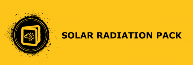 Solar radiation resources pack