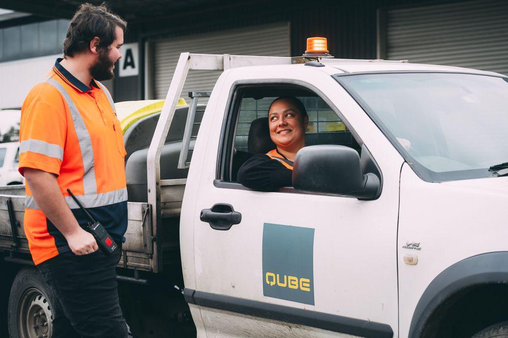 Qube driver and worker